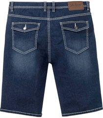 regular fit soft stretch jeans bermuda