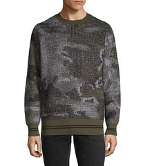 reversible wool-blend sweatshirt