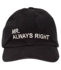 boné masculino always right - preto