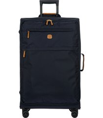 bric's x-bag 30-inch spinner suitcase - blue