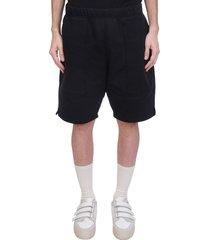 ami alexandre mattiussi shorts in black cotton