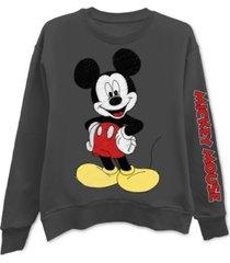 freeze 24-7 trendy plus size mickey mouse graphic-print sweatshirt