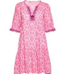 isabelle dress knälång klänning lila odd molly