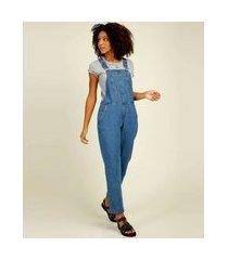 macacão feminino jeans marisa
