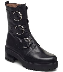 e-6110 shoes boots ankle boots ankle boot - flat svart wonders