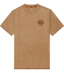 converse camiseta fashion cut and sew