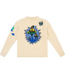 shroom garden pullover khaki