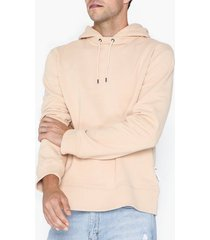 l'homme rouge sturdy hood sweater tröjor tan
