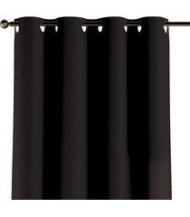 zasłona na kółkach black 130x260cm