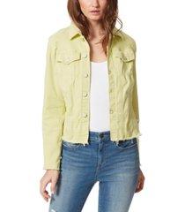 frayed farrah jacket