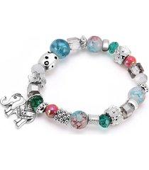 braccialetti con perline di boemia braccialetti con perline colorate per donna