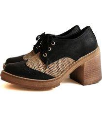 zapato negro miye collazzo carpano