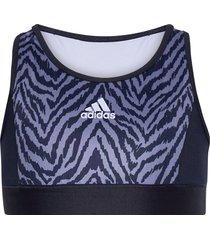 designed to move low support bra top w night & underwear underwear tops blå adidas performance