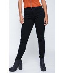jeans tiro alto confort negro family shop