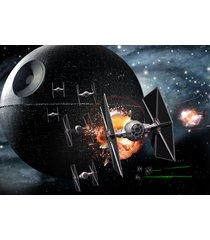star wars  tie fighters & death star      2.5 x 3.5 fridge magnet