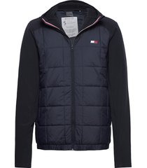 transitional hybrid jacket outerwear sport jackets blå tommy sport