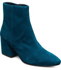 olivia shoes boots ankle boots ankle boots with heel blå vagabond