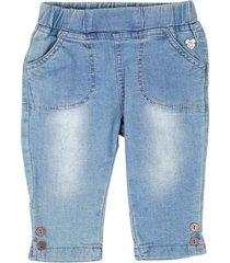 jeans jogg bebe niña celeste  pillin