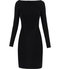 dsquared2 ribbed knit sheath mini dress