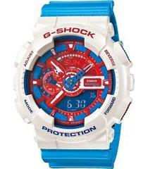 reloj g-shock ga-110ac-7a-para caballero 100% original-correa de resina