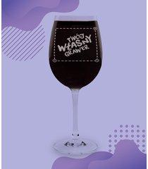 kieliszek do wina z własnym nadrukiem