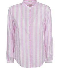 massimo alba large striped shirt