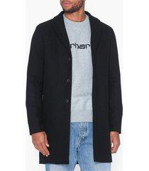selected homme slhbrove wool coat b jackor svart