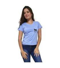 camiseta gola v cellos howled premium feminina