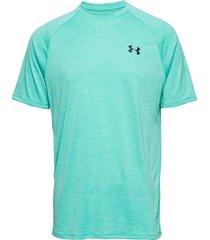 ua tech 2.0 ss tee t-shirts short-sleeved grön under armour