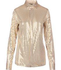 bottega veneta mirror shirt buttons closure long sleeves