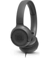 audífonos alámbricos tune 500 cable 3.5 mm - negro