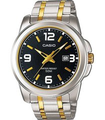 reloj casio hombre mtp-1314sg-1a acero inoxidable - gris