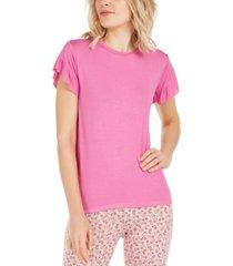 vera bradley juliet ruffle-sleeve pajama t-shirt