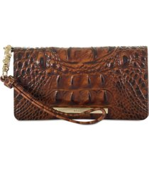 brahmin debra melbourne embossed leather wallet