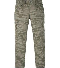 pantaloni cargo baggy fit straight (grigio) - rainbow