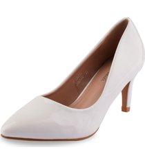 zapato formal fannie blanco weide