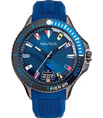 reloj banderas azul nautica
