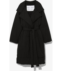 proenza schouler white label long puffer coat /black m