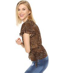 blusa animal print asterisco nicht