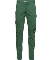 joe trekking pant - gots/vegan trousers cargo pants grön knowledge cotton apparel