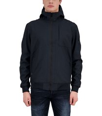airforce softshell jacket dark navy blue blauw
