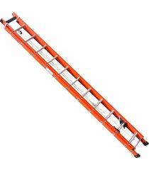escada de fibra santa catarina, 24 degraus, extensível, efe-14
