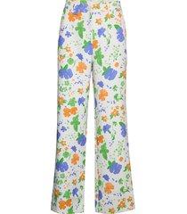 john, 796 printed tailoring wijde broek multi/patroon stine goya