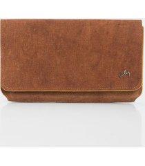 billetera portachequera de cuero texturas