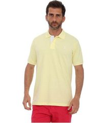 camisa polo golf club slim masculina