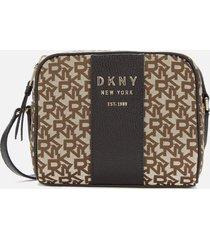 dkny women's noho camera bag - chino/black