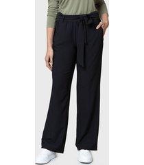 pantalón nautica negro - calce regular
