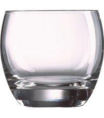 conjunto com 3 copos salto old fashioned em vidro 320ml luminarc