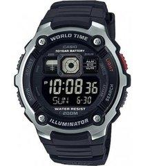reloj ae-2000w-1b casio negro