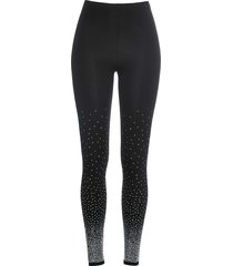 leggings con strass (nero) - bodyflirt
